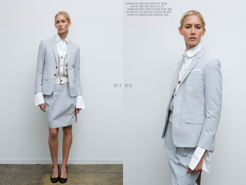 10 standardpricing 8 Thom Browne Women Spring/Summer 2008